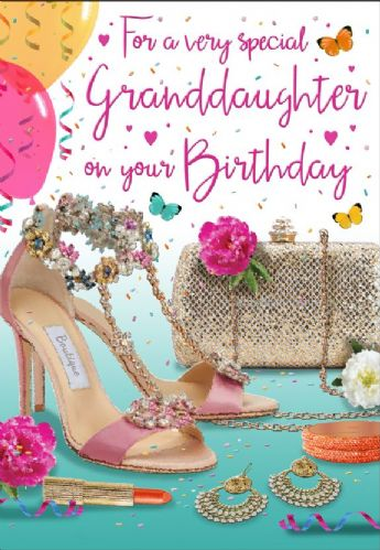 For A Ver Special Granddaughter On Your Birthday